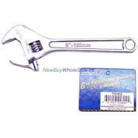 "6"" Adjustable Wrench - LOWEST $2.99"