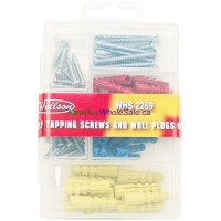 Screws and Wall Plug Kit- LOWEST $0.85