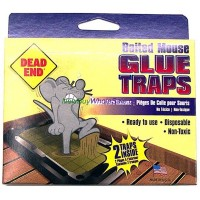 Dead End Mouse Glue Trap 2pk USA - LOWEST $0.75