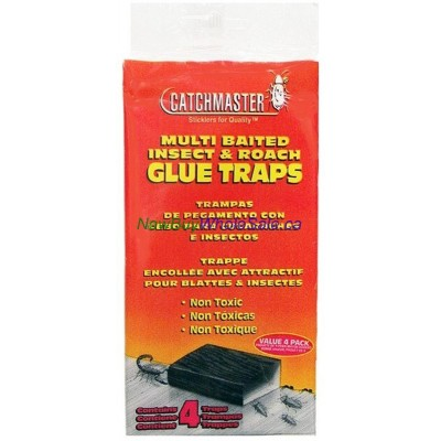 Insect & Roach Glue Trap 4pk