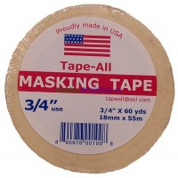 Masking Tape 3/4inx 60yd USA- LOWEST $0.67