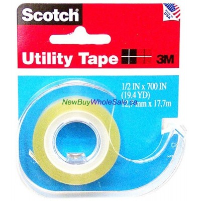 3M Scotch Utility Tape - LOWEST $0.75 - 1/2inx700in RK-2S