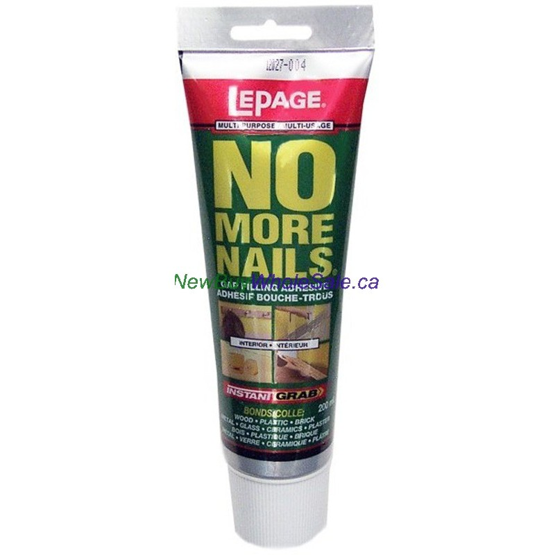 Lepage No More Nails - LOWEST $5.69 - Gap Filling Adhesive 200ml ...