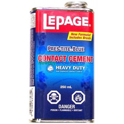 Lepage Contact Cement with brush - LOWEST $5.90 - Heavy Duty 250ml