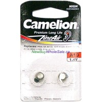 Camelion Hearing Aid Batteries A13 2pk