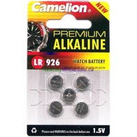 Camelion Watch battery AG7/LR926 5pk LOWEST $0.52