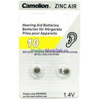 Camelion Hearing Aid Batteries No.10 2pk