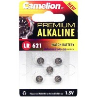 Camelion Watch Battery AG1, LR621 5pk - LOWEST $0.55