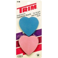 Trim Professional Finishing Hearts for Acrylic & Artificial Nails USA. LOWEST $ 0.65