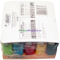 Bic Lighters Coloured Small 50pk