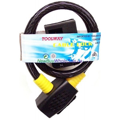 """Cable Bicycle Lock 25"""" (650mm) - LOWEST $2.75"""