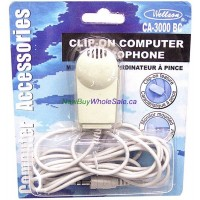 Clip-on Computer Microphone - LOWEST $0.85