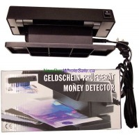 Ultra Violet Light Counterfeit Money Detector- LOWEST $12.99 - Illuminates UV reflective marks on bills.
