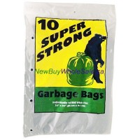 Garbage Bags Super Strong 26inx36in 10pcs per pack 20 pcs per box