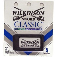 Wilkinson Double Edge Blades 5pk. LOWEST $1.35