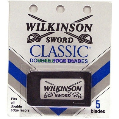 Wilkinson Double Edge Blades 5pk. LOWEST $1.15
