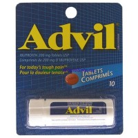 Advil 200 mg Tablets 10pk. LOWEST $2.10