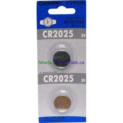 Camelion CR2025 Lithium Cell 2pk.. $0.48 lowest