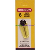Ronson Flints 6pk for Lighters LOWEST $0.50