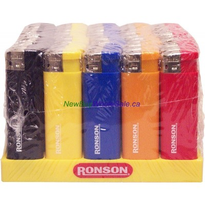 Ronson Disposable Lighters Electronic 50pk