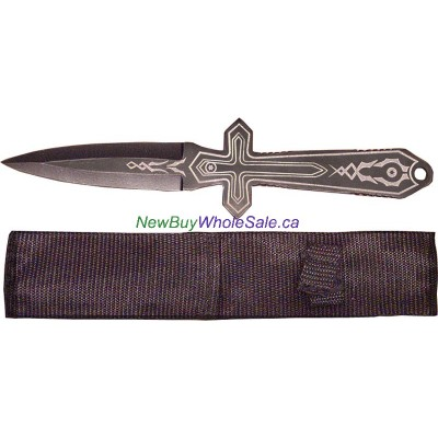 Throwing Knife with nylon case