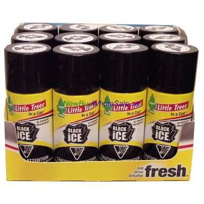 Little Trees can 70g. 12pk.. New Black Ice