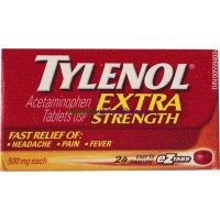 Tylenol Extra Strength 24 Tablets LOWEST $4.00