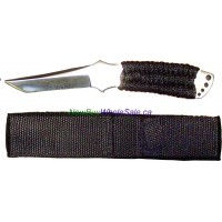 "S/S Throwing Knife 7.25 "" with nylon case No. 222"