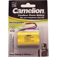 Cordless Phone Batteries NI-Cd Rechargeable No. 13 LOWEST $3.80 2.4V 600mAh. Size AA2 Universal Connector