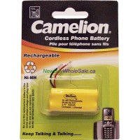 Cordless Phone Batteries NI-MH Rechargeable No. 34U LOWEST $3.50 2.4V 700mAh. Size AAA2 Universal Connector