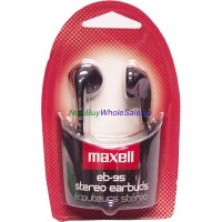 Maxell Stereo Ear Buds EB95. LOWEST $1.75