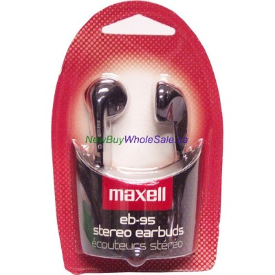 Maxell Stereo Ear Buds EB-95. LOWEST $2.25 -