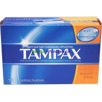 Tampax Tampons - Super Plus 10pk. LOWEST $2.85 UPC: