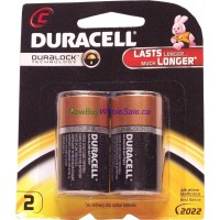 Duracell C 2 Duralock LOWEST $2.81