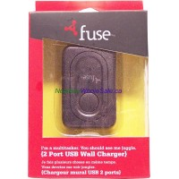 Fuse 2 Port USB Wall Charger Model 06936