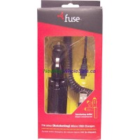 Fuse Micro USB Car Charger LOWEST $5.39 (For Samsung, Blackberry etc) Model 06231