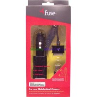 Fuse Iphone 4 Car Charger LOWEST $5.39 Model 06230