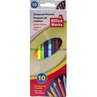Colour Pencil 10pk LOWEST$0.78