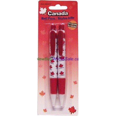 Canada Ball Pens 2pk Lowest $0.80