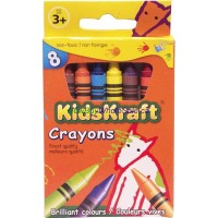 Crayons Assorted Colors 8pk LOWEST $0.50