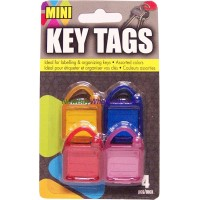 Key Tags 4pcs LOWEST $0.85
