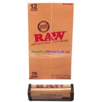 RAW plastic Cigarette Rolling Machine 79mm 12pk