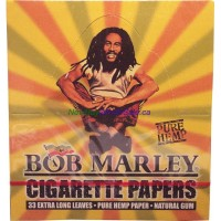 Bob Marley Cigarette Paper 50pk x 33 Extra Long Leaves