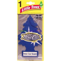 Little Trees Xtra Strength New Car - Car Air Freshener 24pk