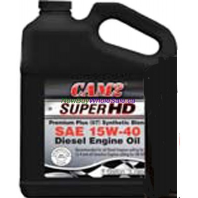 CAM2 SuperHD Premium Plus SAE 15W-40 Synthetic Blend Engine Oil 3.785 L LOWEST $16.88
