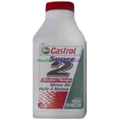 Castrol Super 2-Stroke Motor Oil Injection & Pre-Mix Systems 250mL LOWEST $2.38