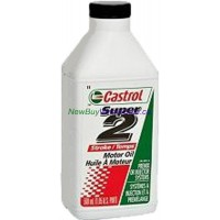 Castrol Super 2-Stroke Motor Oil Injection & Pre-Mix Systems 500mL LOWEST $4.03