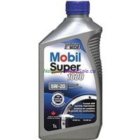 Mobil Super 1000 Motor Oil Newer Vehicle Formula SAE 5W-20 1 L LOWEST $4.11