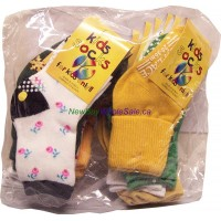 Kids/children's Socks Assorted sizes,patterns & Colors. LOWEST $6.00dz Made in Korea
