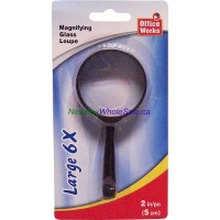 "Magnifying Glass 3.5"" 9cm 3X larger"